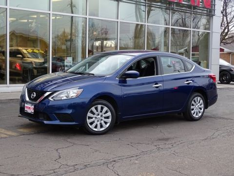 Certified Pre-Owned 2019 Nissan Sentra S FWD 4D Sedan