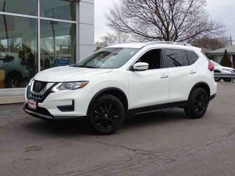 Certified Pre-Owned 2017 Nissan Rogue SV AWD 4D Sport Utility