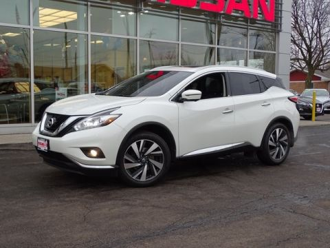 Certified Pre-Owned 2017 Nissan Murano Platinum AWD 4D Sport Utility